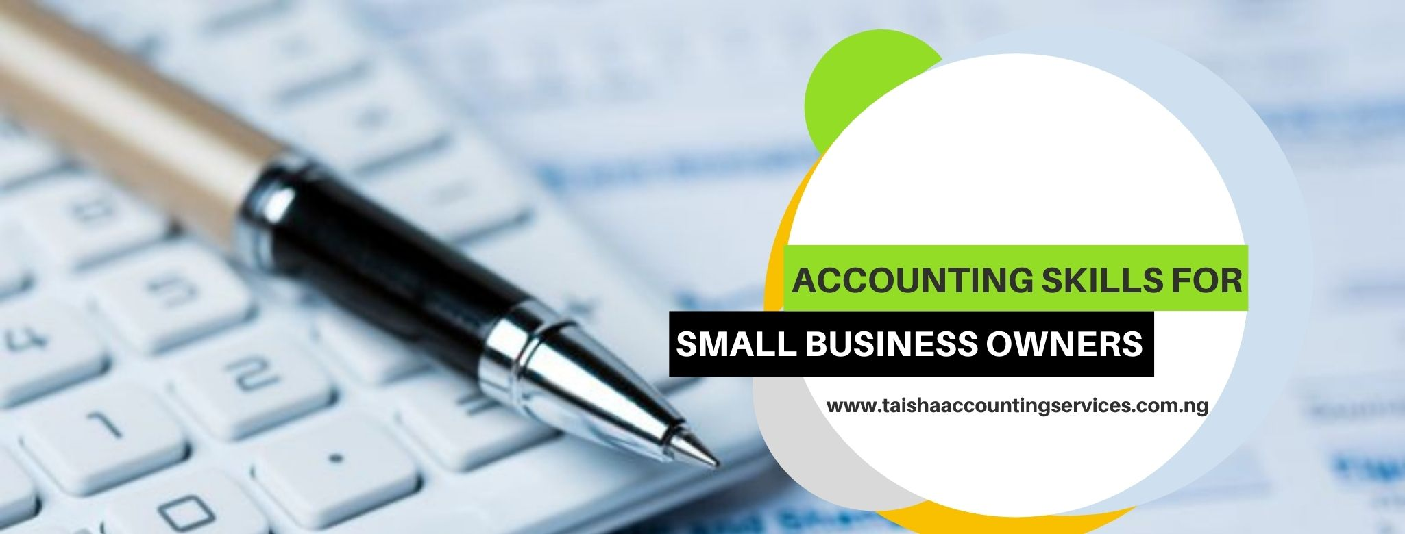 Accounting Skills for Small Business Owners